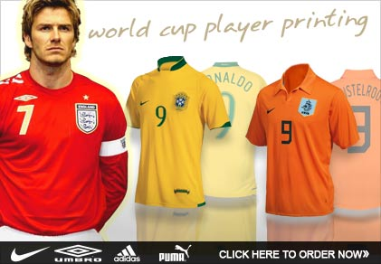 Click here to order your World Cup gear!